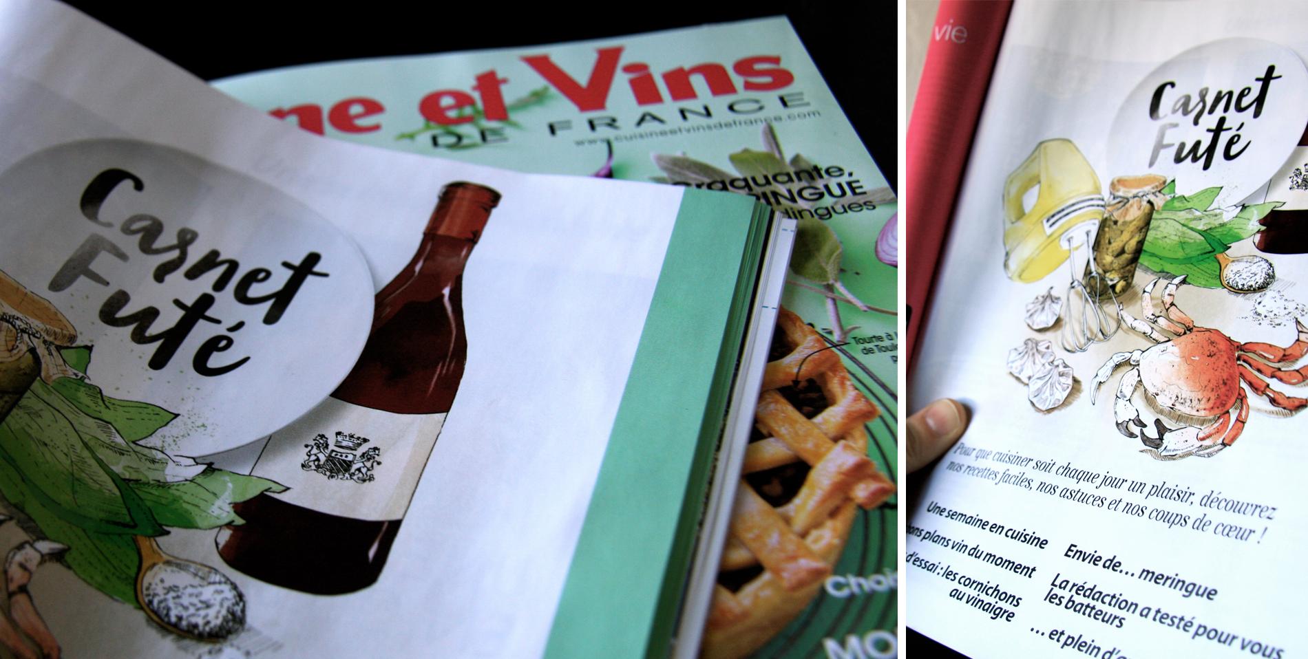 Cuisine et vins de france avril mai 2017 marie dewitte for Abonnement cuisine et vins de france